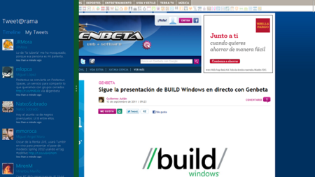 Multitarea en Windows 8