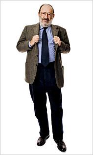 """Umberto Eco: """"Dan Brown es una de mis criaturas"""""""