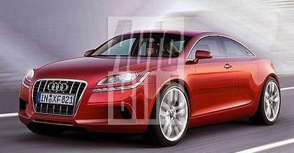 Audi A7, recreación de Autobild