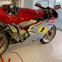 Esta MV Agusta F4 AGO se vende por 300.000 euros porque pudo ser precisamente del ilustre Giacomo Agostini