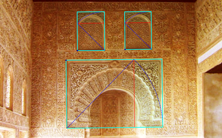 Imagen 5 6 Proporciones 2 En La Pared Del Mihrab