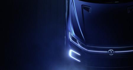 Este teaser de un SUV Volkswagen esconde el futuro Touareg híbrido