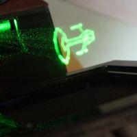 Holovect es el primer proyector de imágenes 3D en pleno aire
