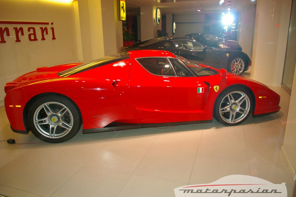 Concesionario Ferrari y Maserati en Ginebra