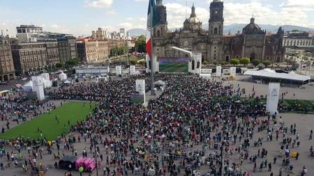 """Qué sucedió con el """"sismo artificial"""" durante el partido de México contra Alemania"""