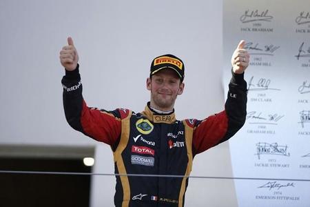 A Romain Grosjean le habría gustado participar en los rookie test
