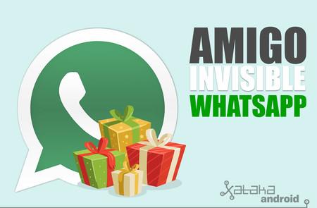 Cómo organizar el sorteo del amigo invisible por WhatsApp paso a paso