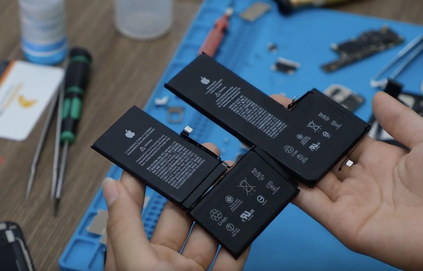 El primer desmontaje del iPhone 11 Pro Max confirma el incremento de un 25% de la batería