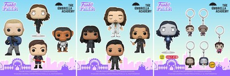 Figuras Funko POP de The Umbrella Academy en preventa en Amazon México