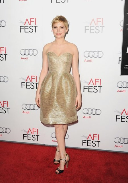 Michelle Williams vestido