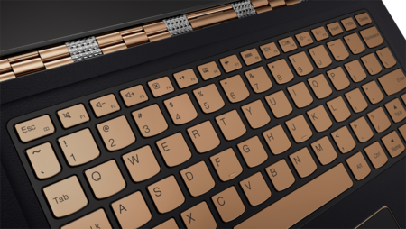 Yoga 900s In Gold Keyboard Copia