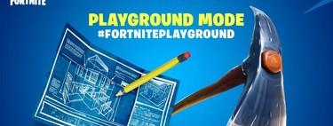 Fortnite introduce Patio de juegos de manera permanente en el juego