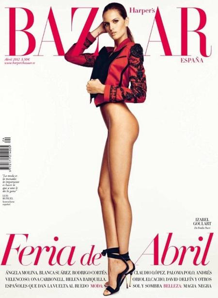 Olé tú, olé Izabel Goulart y olé que olé Harper's Bazaar