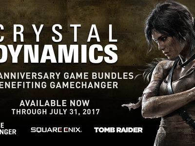 Crystal Dynamics celebra su 25º aniversario anunciando una serie de bundles benéficos con una selección de sus mejores juegos