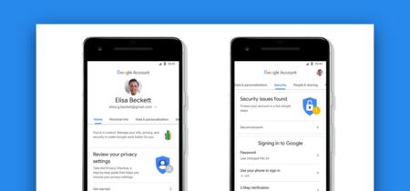 La gestión de cuentas de Google se actualiza, mejor control sobre tus datos desde Android, iOS y la web