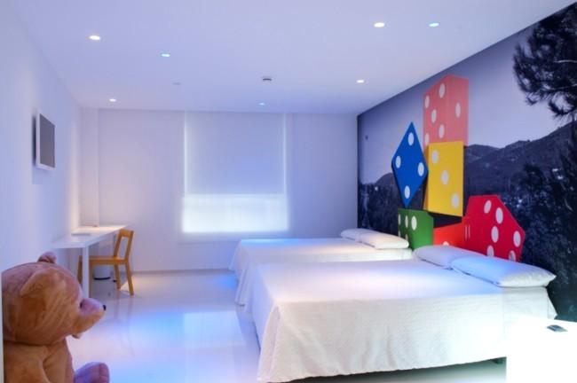 Hotel del juguete habitación dados
