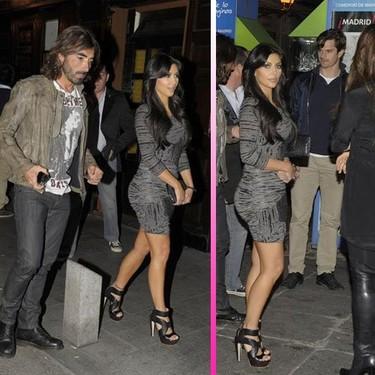 Kim Kardashian estuvo en el clásico Real Madrid-Barça... esta chica no se pierde una