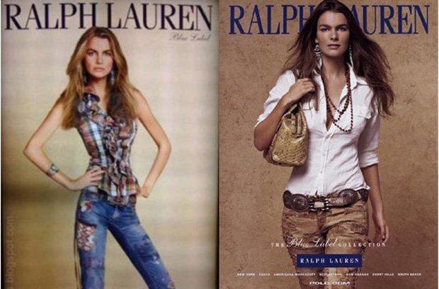 Ralph Lauren adelgaza demasiado a una modelo