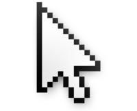 Que la flecha-cursor de tu ratón no sea recta no es un error: se pensó así