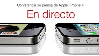 Estamos siguiendo la conferencia de prensa del iPhone 4 [Finalizado]
