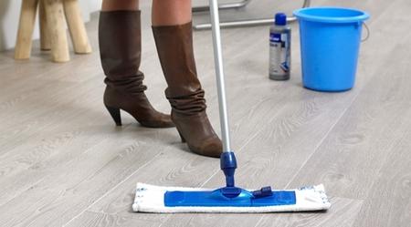 Kit de limpieza suelo parquet y laminado Quick Step
