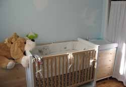 Consejos para decorar la habitación del bebé