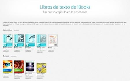 Apple entra en el mundo del aprendizaje con los libros de texto de iBooks para el iPad