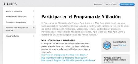 Apple reforma y amplía su programa de afiliados web a más países