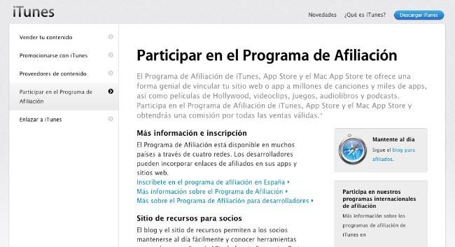 apple programa afiliación