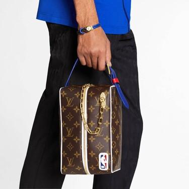 El baloncesto se viste de lujo con la colección de maletas y bolsos de Louis Vuitton para la NBA