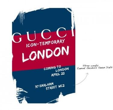 Gucci Icon-Temporary Store en Londres