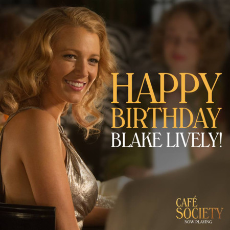 Happy Birthday Cafe Society