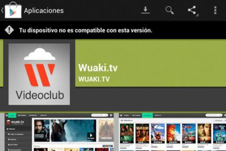 aplicaciones no compatibles en Android para tablets