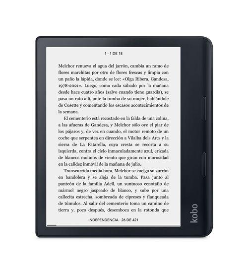 Libro electrónico E-Reader Kobo Sage 8'' Negro
