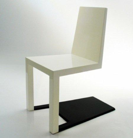 Shadow chair, una silla con sombra