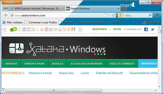 Firefox MSN