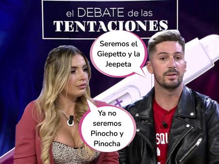 ¡Bombazo! Patri y Lester anuncian su embarazo en 'El Debate de las Tentaciones': Esta ha sido la surrealista reacción de Marta Peñate