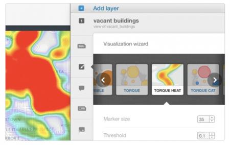 Los mapas de calor llegan a CartoDB