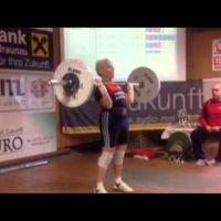 Dagmar McSwain, la halterófila de 71 años que bate récords