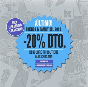 """Un 20 % de descuento en el día """"Friends&Family"""" de Kiehl´s"""