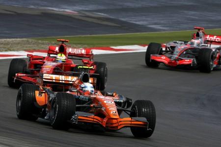 Winkelhock Nurburgring F1 2007