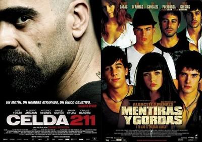 Encuesta de la semana | Resultados: 'Celda 211' es la mejor película española y 'Mentiras y gordas' la peor