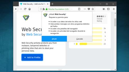 Este add-on de Firefox ha sido cazado recopilando el historial completo de navegación de sus usuarios