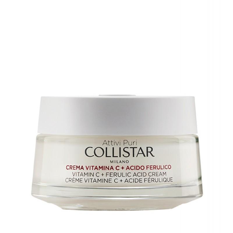 Crema facial de vitamina C y ácido ferúlico de Collistar