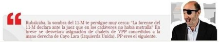 Alguien está jugando con la máscara de Anonymous y ha hackeado la web de Rubalcaba