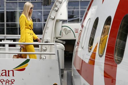 Ivanka Trump es fan de Zara y su traje en color amarillo ha creado furor