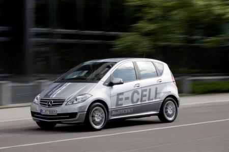 Mercedes Clase A E-Cell, 95 caballos de eléctrico
