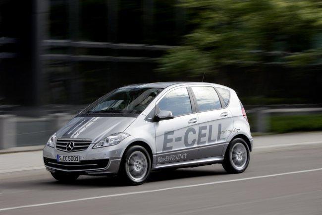 Mercedes Clase A E-Cell