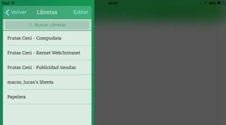 La nueva versión de Evernote  para iOS nos trae mucha más rapidez y nuevas funcionalidades