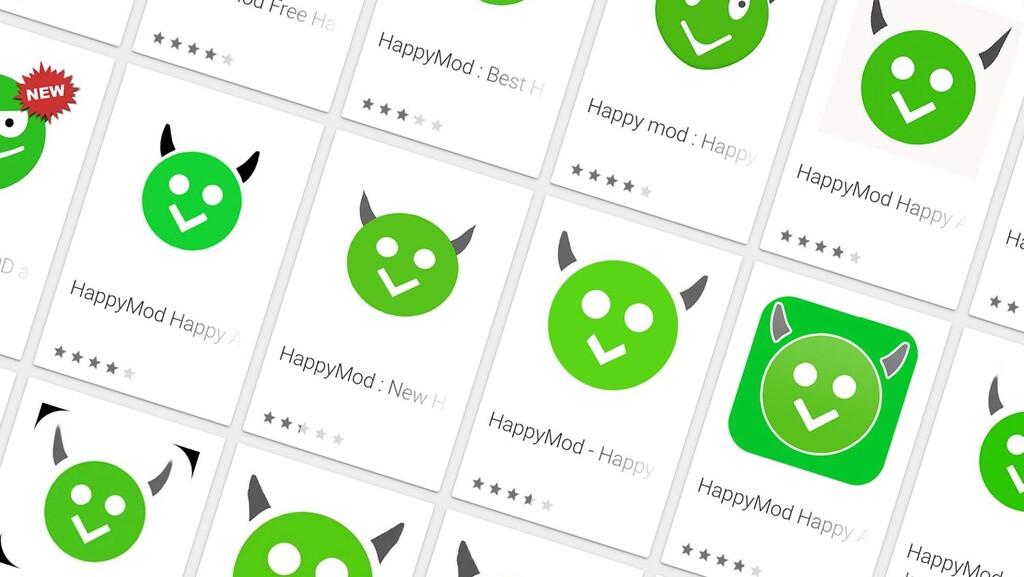 El prodigio HappyMod en Google™ Play: app cargadas de anuncios que no sirven para nada